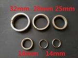 Light-weight Titanium Key Ring