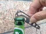 multi-fuctional tool bottle opener hexagon spanner hanging buckle