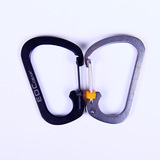 57mm D-Type SS hanging buckle carabiner