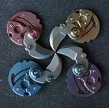 TC4 Titanium Alloy Coin Knife keychain knife